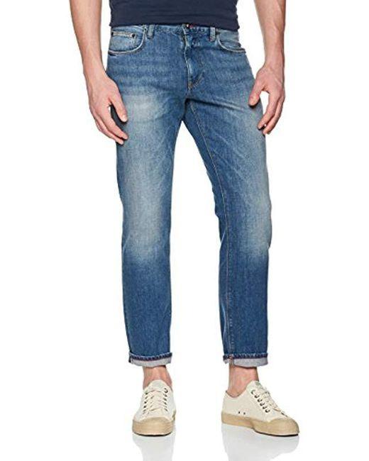 16562a28 Tommy Hilfiger - Mercer-str Norman Blue Straight Jeans for Men - Lyst ...