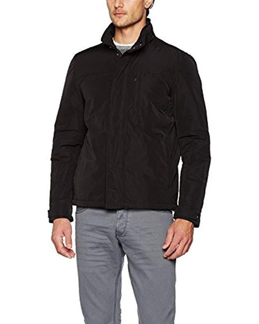 Geox - Black Man Jacket for Men - Lyst