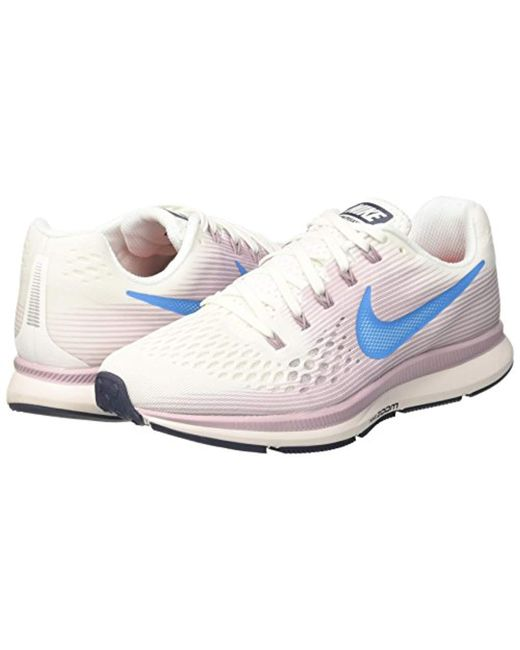 860dd7916ac51 ... Lyst Nike - White  s Air Zoom Pegasus 34 Competition Running Shoes ...