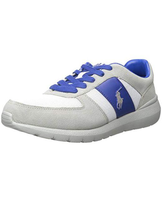 Polo Ralph Lauren - Gray Cordell Sneaker for Men - Lyst