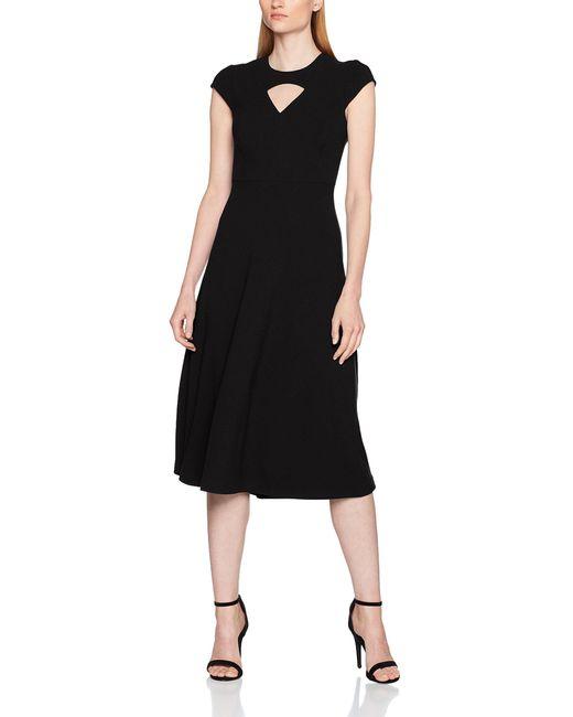 L.K.Bennett Black L.k. Bennett Cyra Knee-length Sleeveless Dress