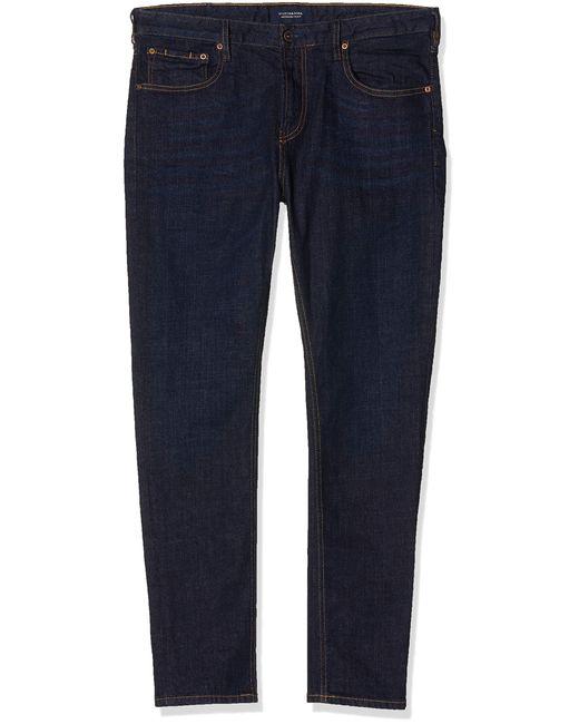 Scotch & Soda Skim Straight Jeans in Blue für Herren