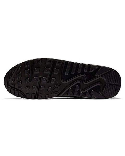 Men's Black Air Max 90 Ns Gpx Big Logo Shoes