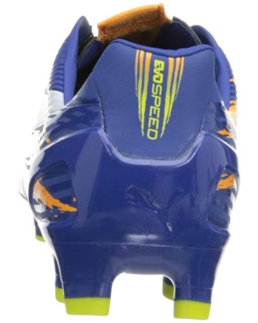 d23a31d6426c7 PUMA Evospeed 2.2 Graphic Firm Soccer Cleat in Blue for Men - Lyst