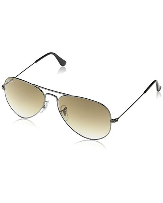 956166e141 Ray-Ban - Metallic Aviator Large Metal Sunglasses