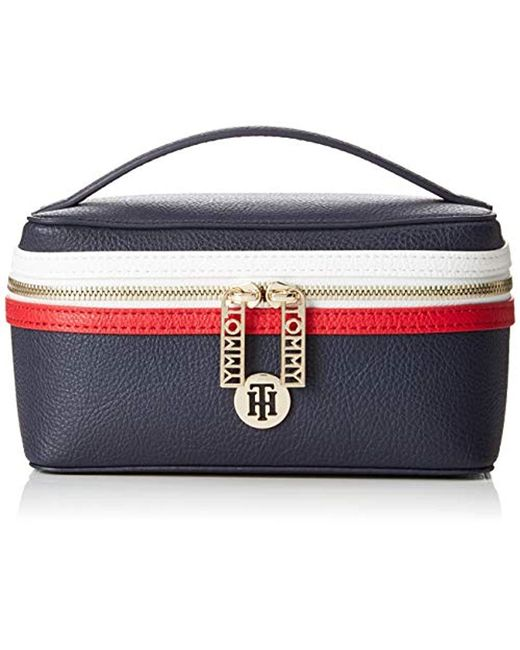 Tommy Hilfiger - Th Core Make Up Bag, 's Canvas And Beach Tote Blue (corporate), 10x10x19 Cm (b X H T) - Lyst