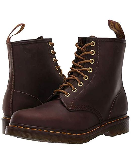 Dr. Martens 1460 Butterscotch Combat Boot in Brown for Men