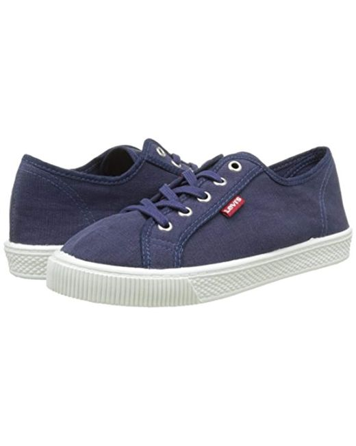 0233920dcad65 Levi s Malibu W Trainers in Blue - Save 8% - Lyst