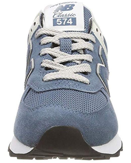 best service huge discount cheap sale New Balance Wildleder Damen 574v2 Sneaker in Blau - Lyst