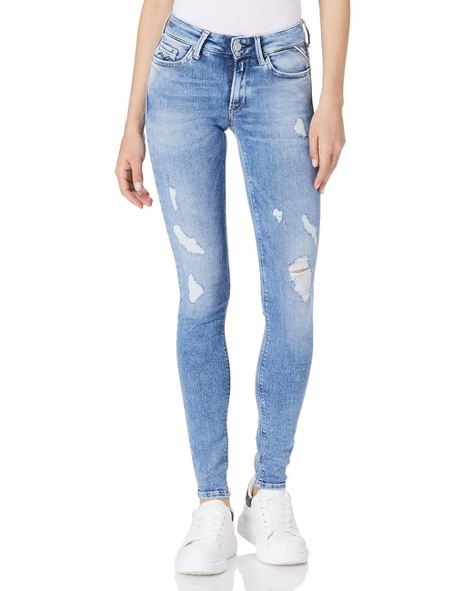 New Luz Jeans di Replay in Blue
