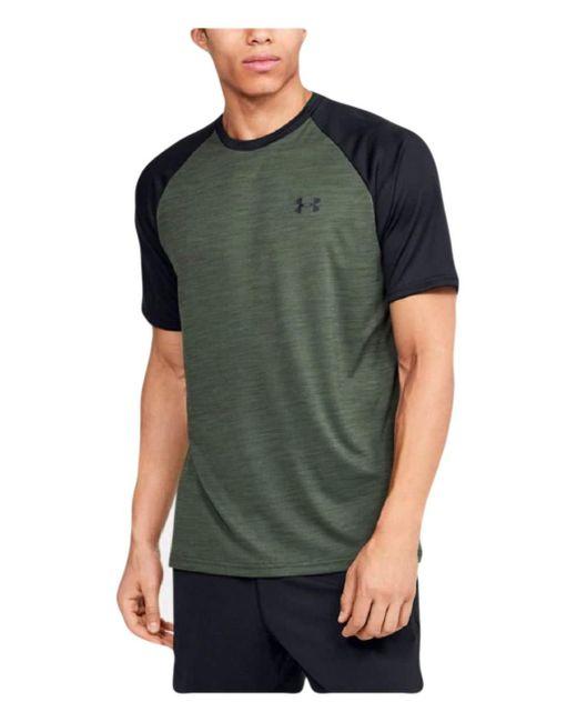 Tech 2.0 T-shirt à manches courtes pour homme Under Armour pour homme en coloris Green
