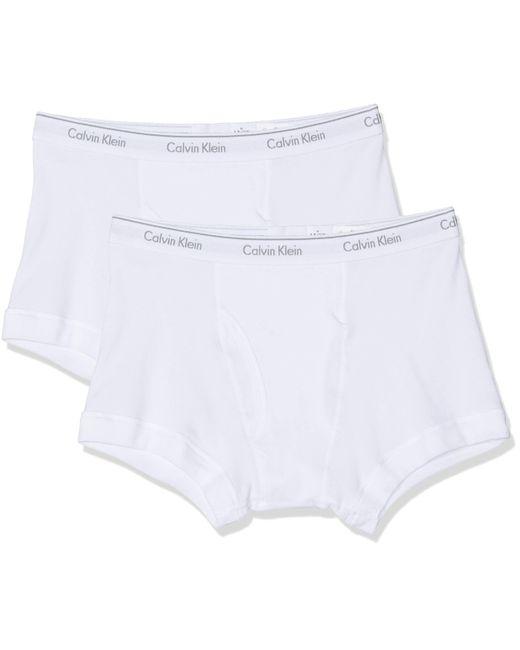 Shorties Calvin Klein pour homme en coloris White