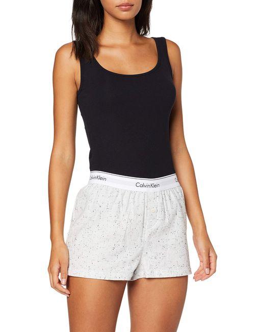 PJW Shorts Pantalones de Pijama Calvin Klein de color Multicolor