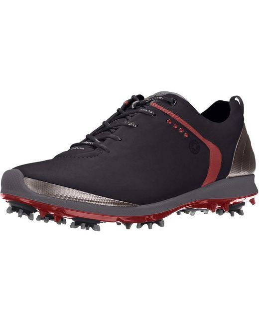 Ecco Black Golf for men