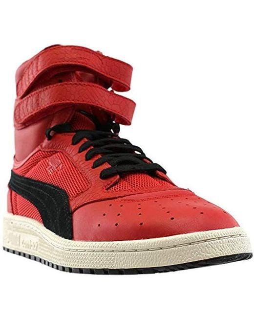 PUMA - Red Sky Ii Hi Color Blocked Lthr Sneaker for Men - Lyst
