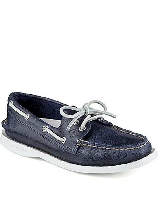 Sperry Top-Sider - Blue A/o Two-eye Boat Shoe - Lyst