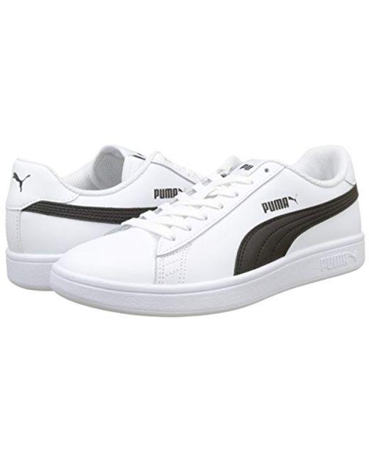 089b60b44db ... PUMA - White Unisex Adults Smash V2 L Low-top Sneakers for Men - Lyst  ...