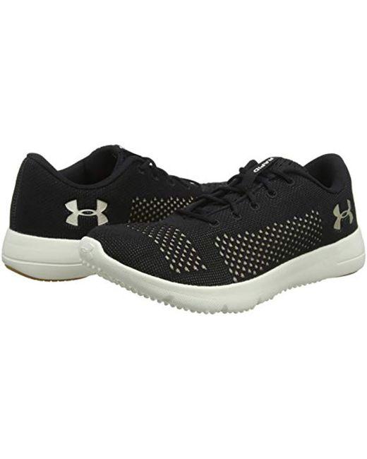 UA W Rapid, Zapatillas de Running para Mujer de color negro