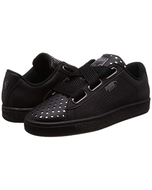 amazing price a few days away coupon codes PUMA Chaussures Femme Heart Ath Lux in Black - Lyst