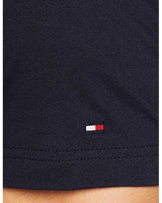 084e1af105 ... Tommy Hilfiger - Blue Wcc Colour Block Stripe Tee T-shirt for Men - Lyst