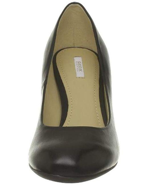 Men's Black D Marie Claire High E Court Shoes