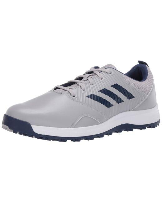 Adidas Gray Cp Traxion Sl Golf Shoe for men