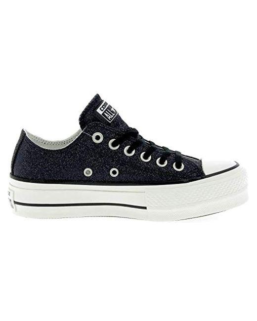Converse Rubber 561040c Sneakers in Nero Glitter (Black) Lyst