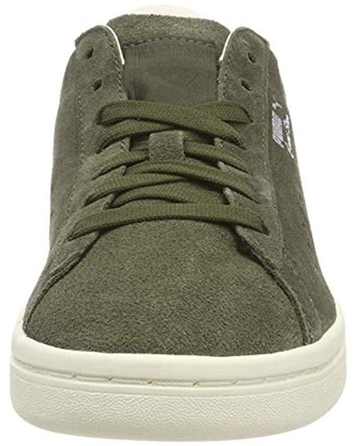 best loved d5f7f 40f40 Green Unisex Adults' Court Star Suede Interest Low-top Trainers