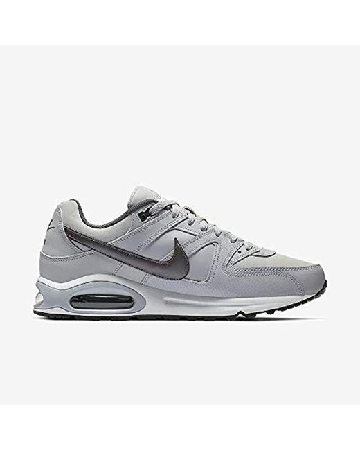 Nike Air Max Command Leather black or gray men's sneakers