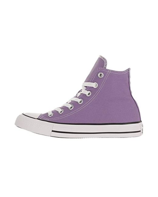 ec9aadb9d173 ... Converse - Purple Unisex Chuck Taylor As Plaid Hi Lace-up - Lyst ...