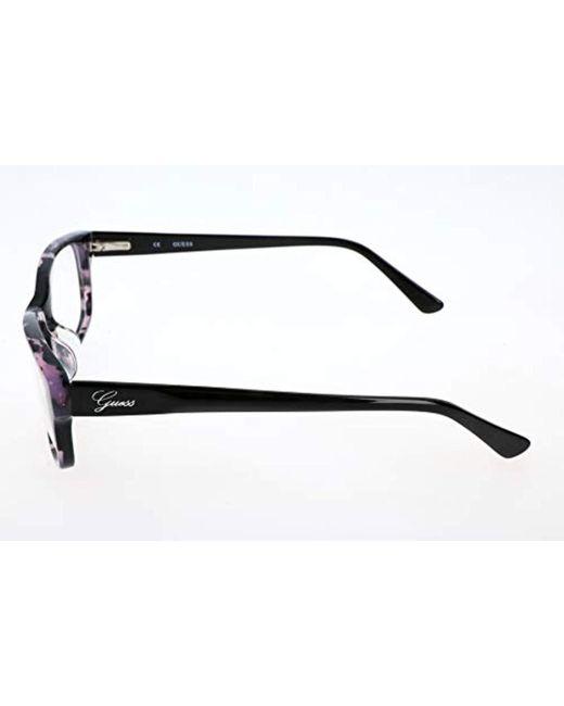 Braun Marr/ón Guess Brille Gu2220 B84 52 Monturas de gafas 52.0 para Mujer