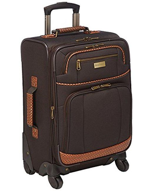 Tommy Bahama - Brown Softside Carry On Luggage - Lyst