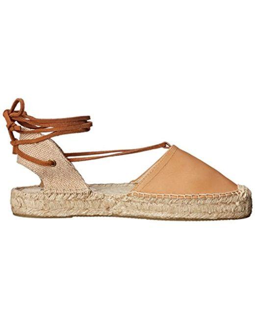 f25c4599810 ... Soludos - Brown Platform Gladiator Sandal Leather Platform Sandal - Lyst  ...