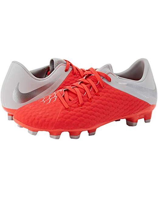 quality design 96dbc 1e72c Nike Unisex Adults' Hypervenom Phantom Iii Academy Fg ...