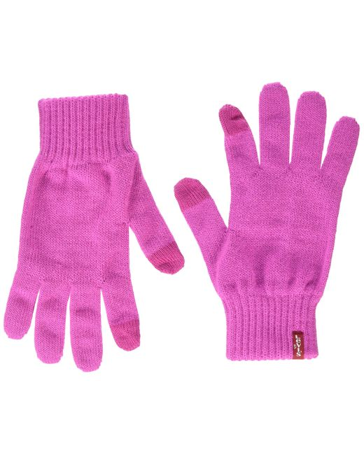 Levi's Pink Ben Touch Screen Gloves