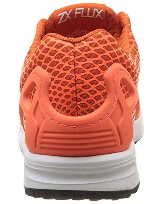 magasin d'usine 282d1 df328 adidas Zx Flux Techfit, Trainers in Orange for Men - Lyst