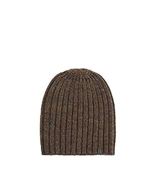 Bonnet Esprit pour homme en coloris Brown