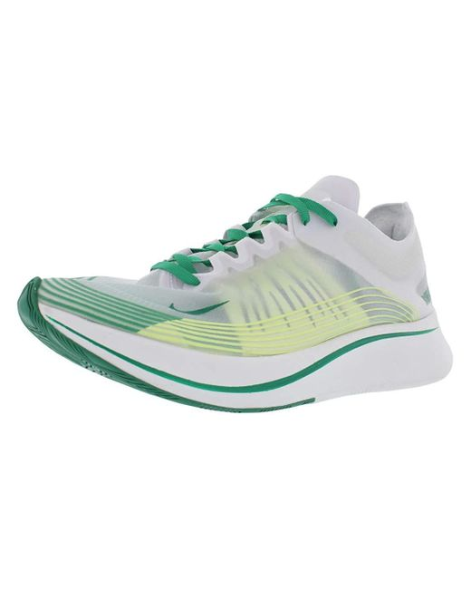 Nike Hombres Zoom Fly Sp Fashion Sneakers Mehrfarbig Groesse 9 US /43 EU in White für Herren