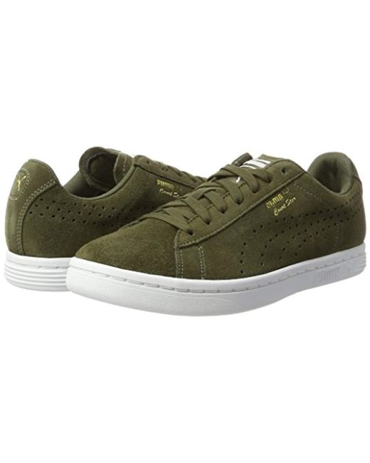 ... PUMA - Green Unisex Adults  Court Star Suede Low-top Sneakers for Men  ... 06e5c352e