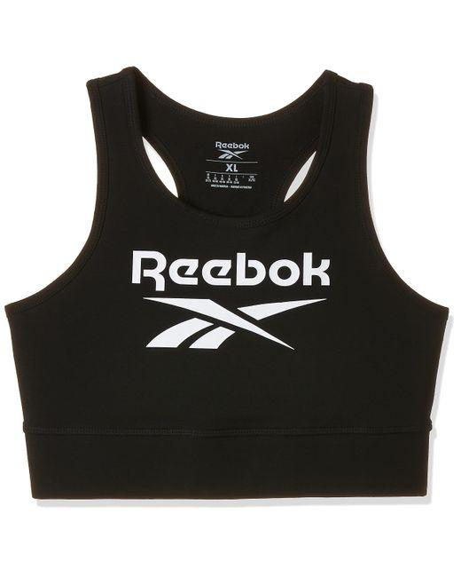 RI Bl Cotton Bralette Reggiseno Sportivo di Reebok in Black