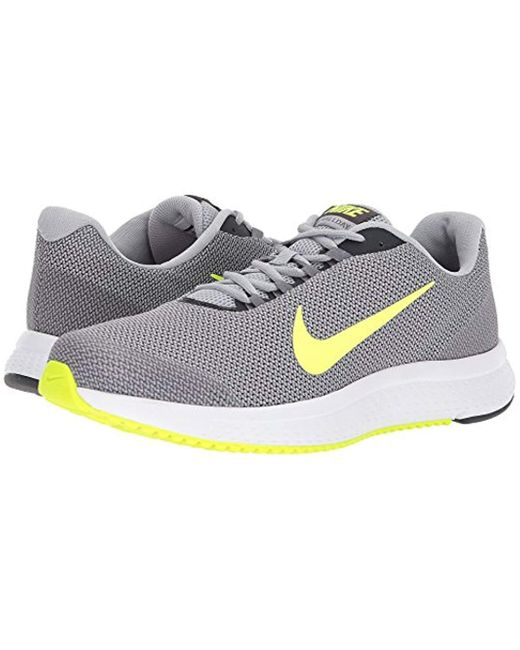 nice cheap great deals 2017 latest design Nike Runallday Wolf Grey/volt in Gray for Men - Lyst