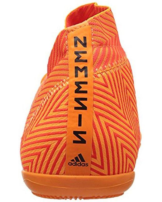9617f38bb1e ... Adidas - Orange Nemeziz Tango 18.3 Indoor Soccer Shoe for Men - Lyst ...