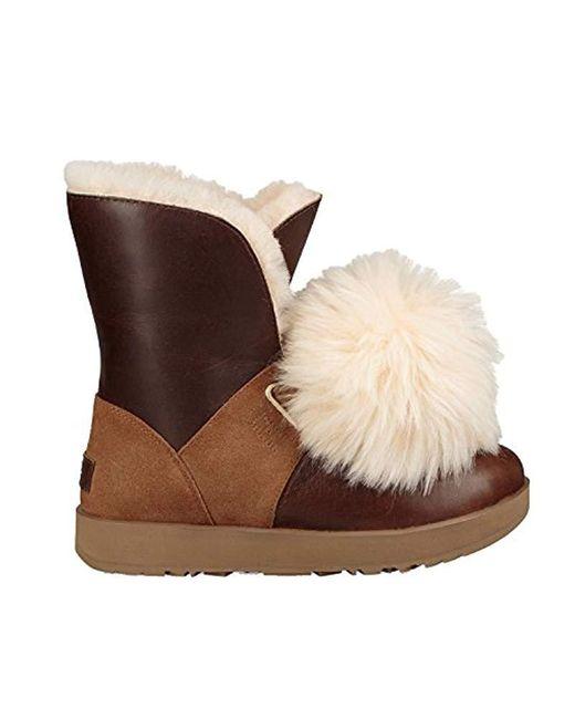 Ugg Brown Isley Waterproof Winter Boot