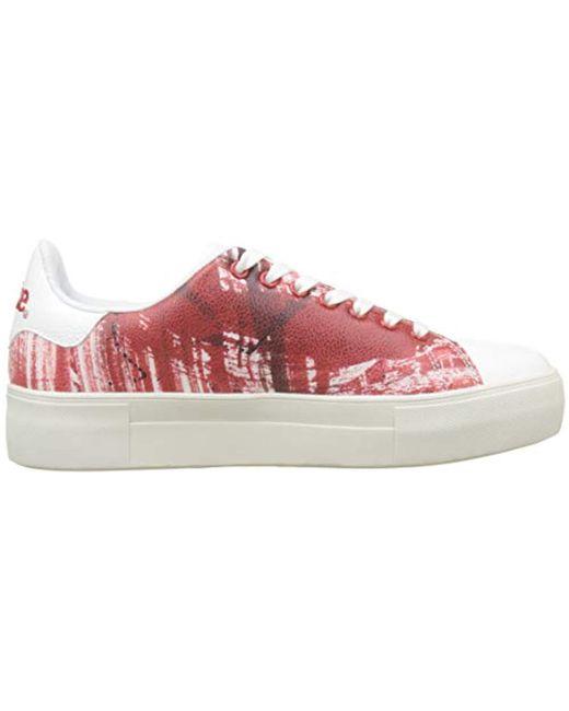 Desigual Damen Shoes_Star Coca cola Sneaker: