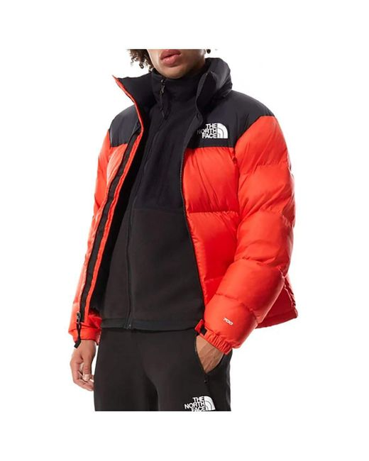 Veste Compactable Retro Nuptse 1996 The North Face pour homme en coloris Orange