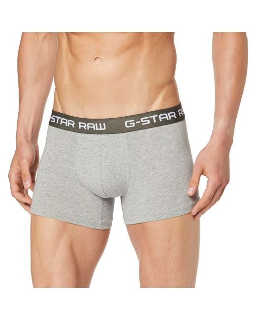 G-Star RAW Gray Classic Trunk for men