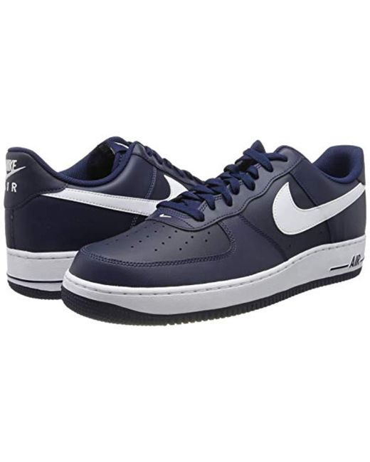 d91c6f31a Nike Air Force Sneakers in Blue for Men - Save 5% - Lyst