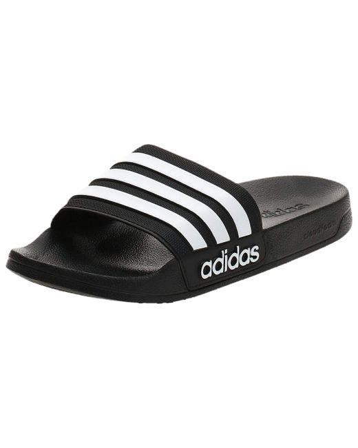 Adilette Shower Adidas pour homme en coloris Black