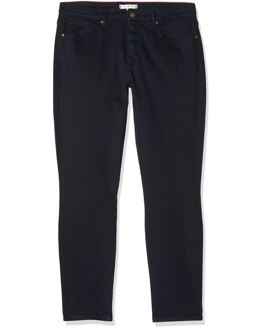 Tommy Hilfiger Blue Como Skinny Rw A Clr Straight Jeans