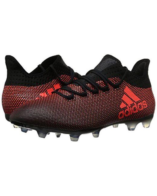 info for fda39 61fdd Men's X 17.2 Fg Soccer Shoe, Grey/real Coral/core Black, 7.5 M Us
